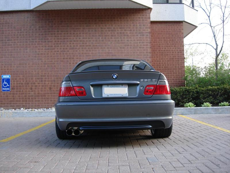 Cat Back Exhaust System For Bmw E46 325 330 Highline Tuning